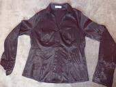 Dámska čierna košela M-L, L