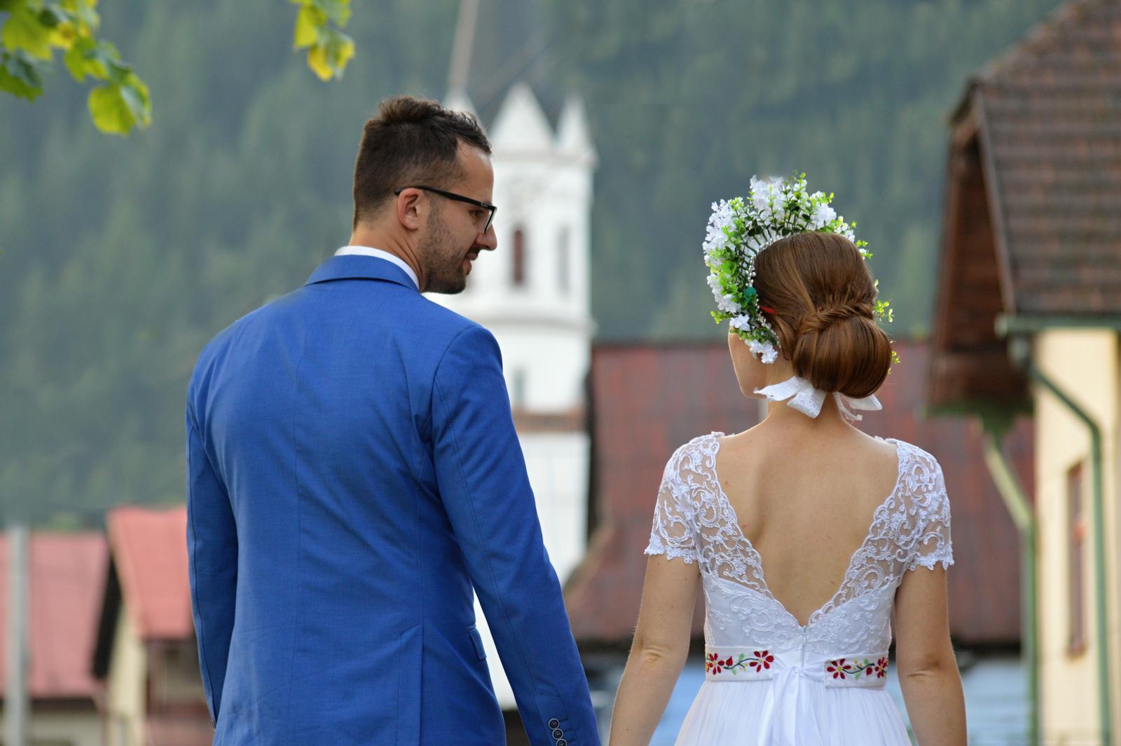 Ľahučké svadobné šaty - Obrázok č. 3