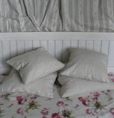 Čelo postele.,