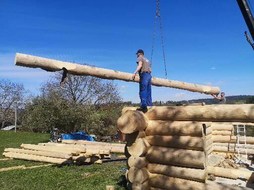 Stavíme náš srub - Obrázek č. 35
