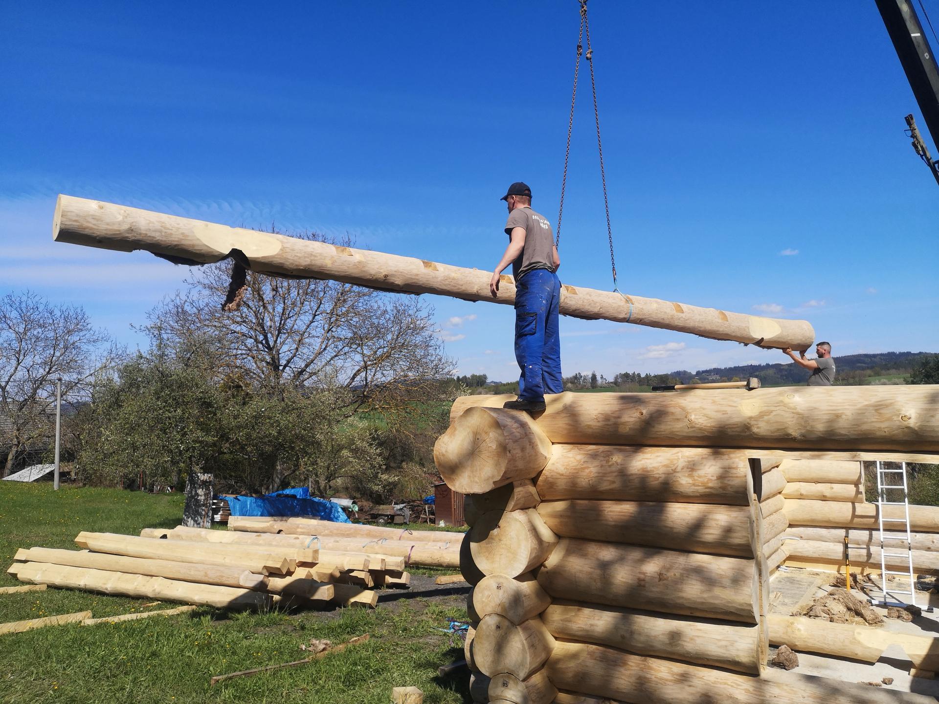 Stavíme náš srub - Obrázek č. 46