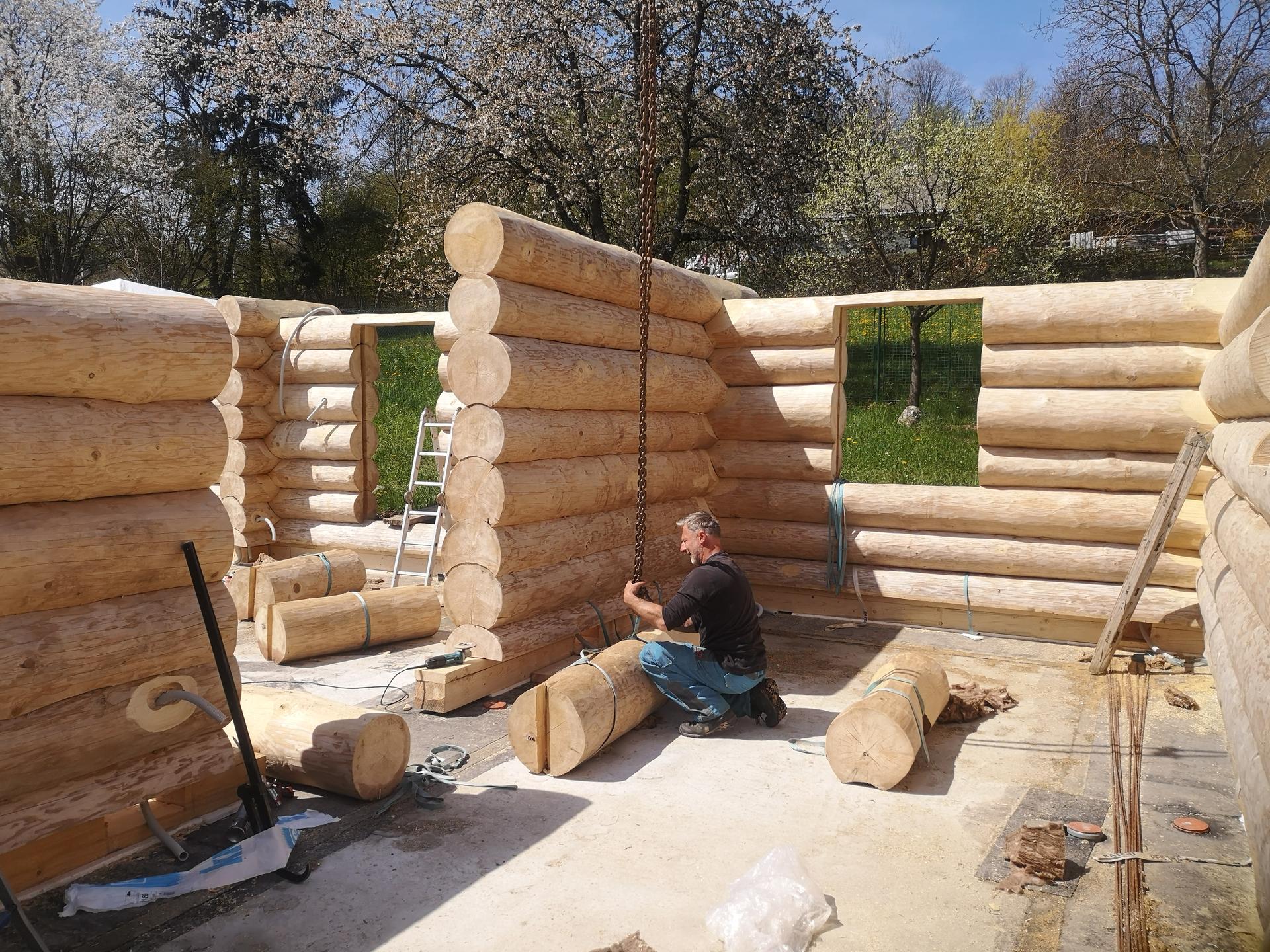 Stavíme náš srub - Obrázek č. 49