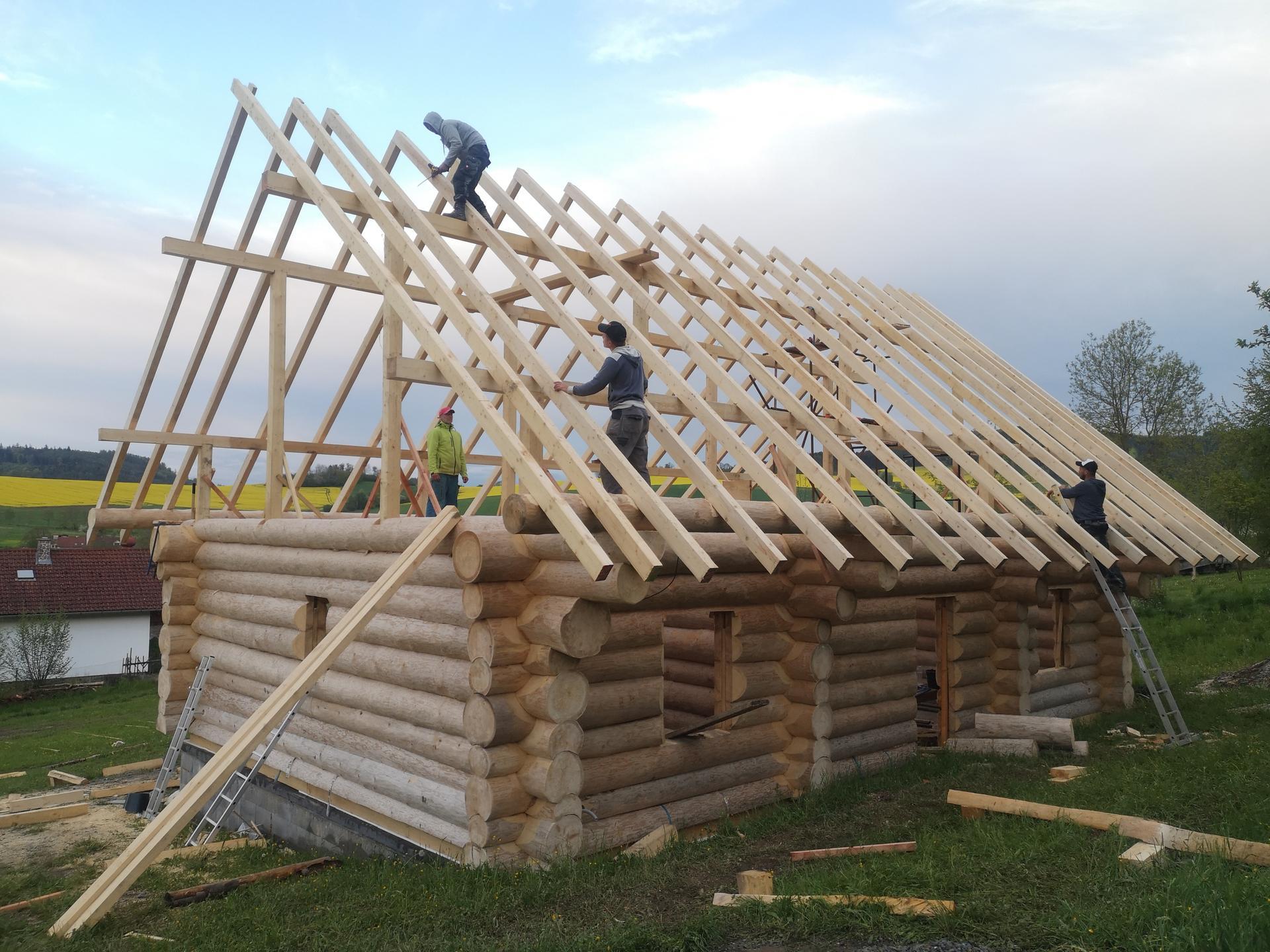 Stavíme náš srub - Obrázek č. 9