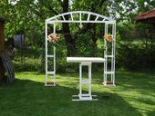 svatební dekorace- slavobrána,