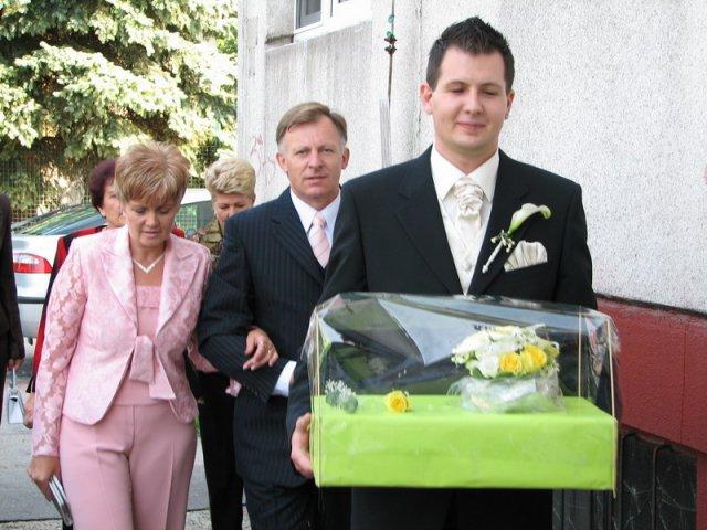 Elca{{_AND_}}Daniel - Príchod ženícha s mamuškou a tatikom