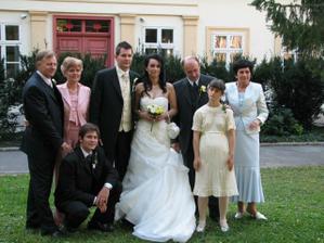 Rodinné foto už po obrade