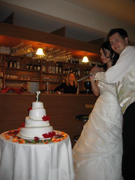 Elca{{_AND_}}Daniel - Krájanie svadobnej torty