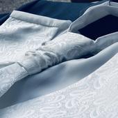 Svadobna vesta, kravata, vreckovka, 50