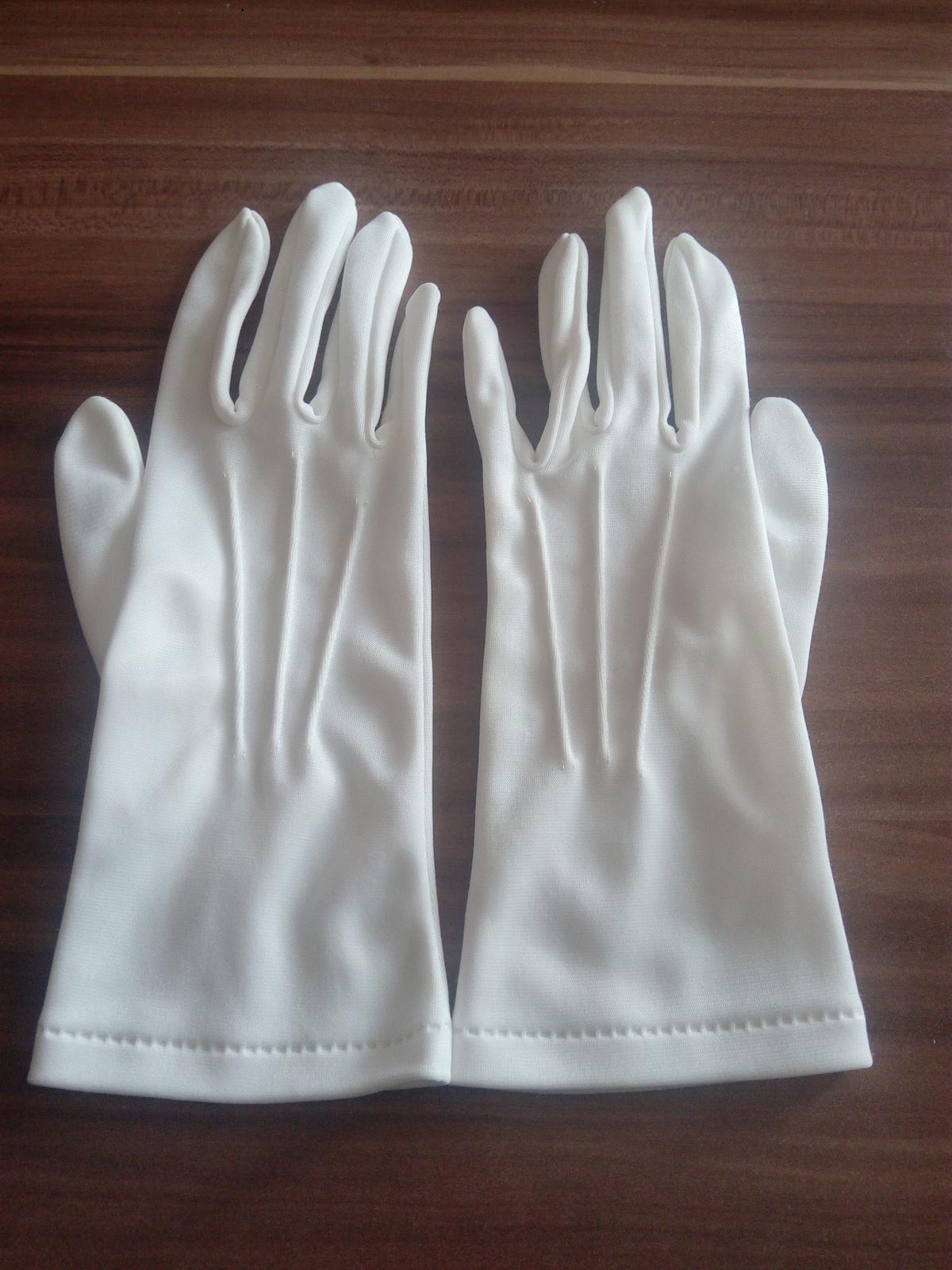 Svadobne rukavicky - Obrázok č. 1