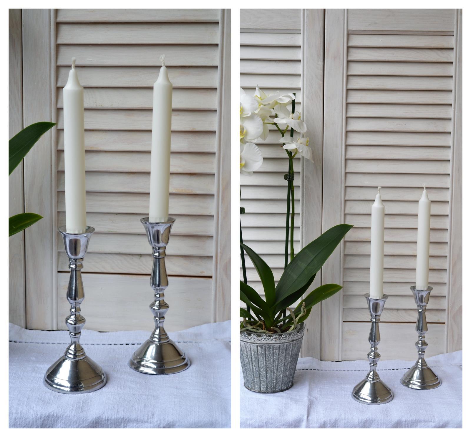 Svietnik na kónickú sviečku - Obrázok č. 2