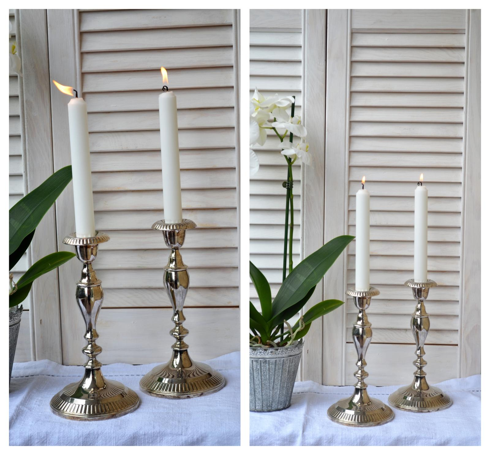 Svietnik na kónickú sviečku - Obrázok č. 3
