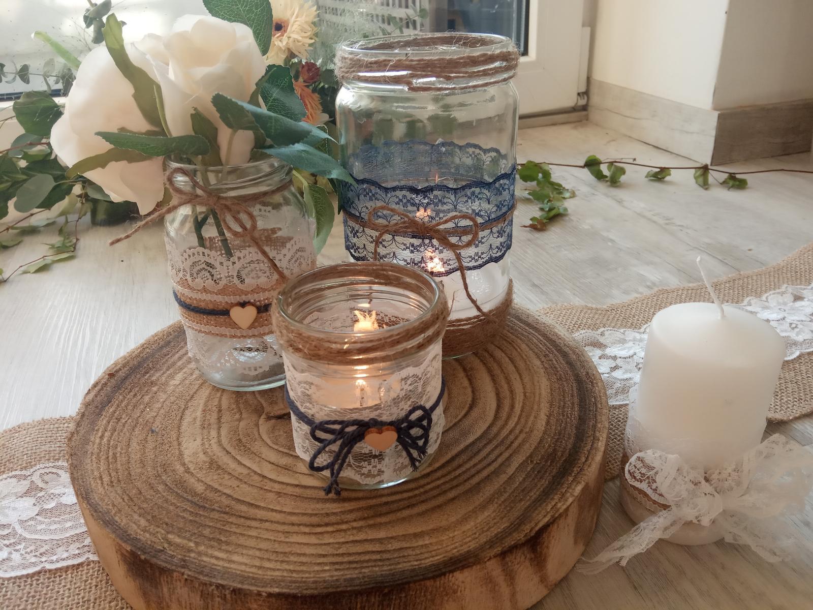 Svícínky, svíčky, vázičky - Obrázek č. 2
