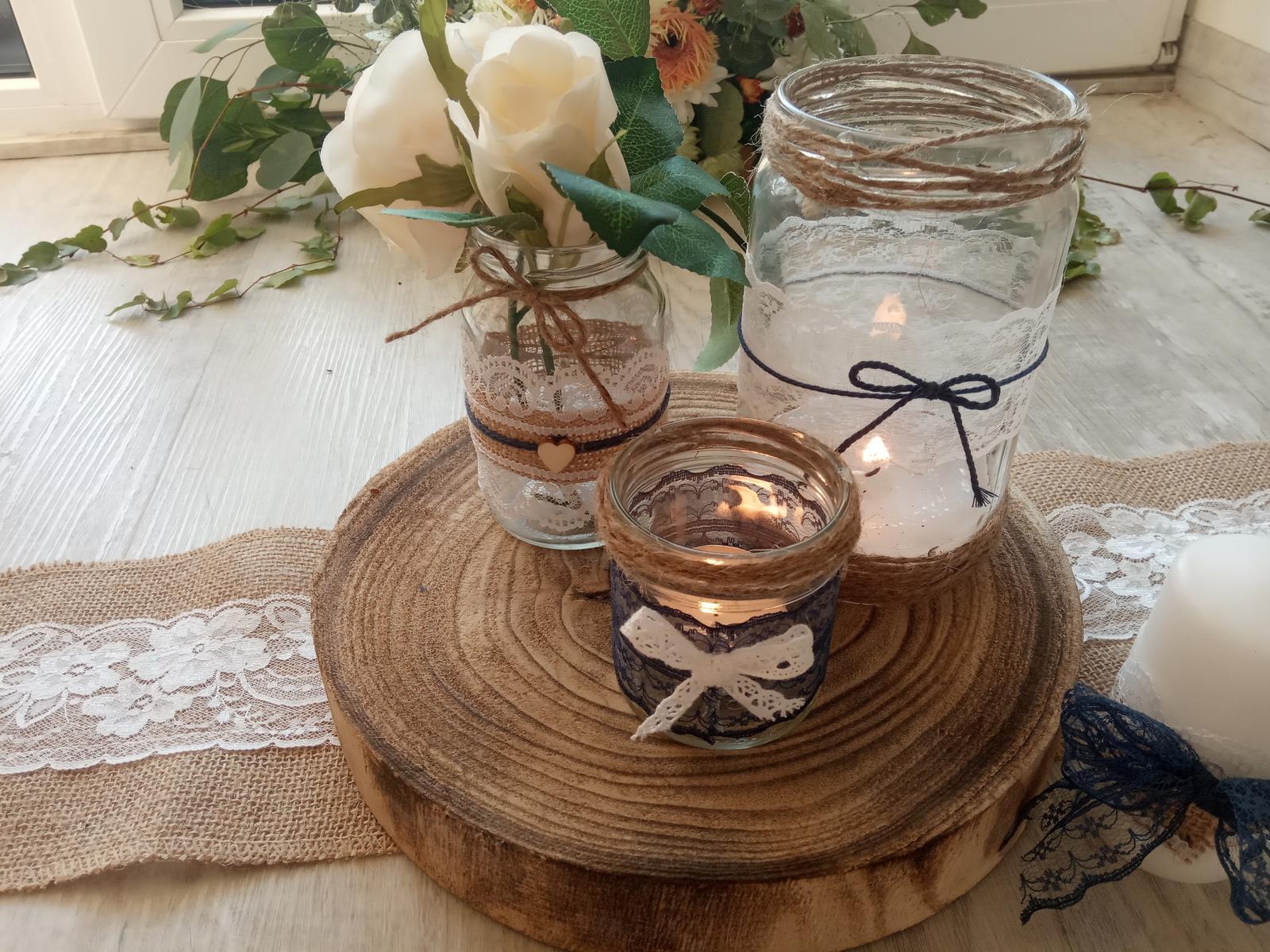 Svícínky, svíčky, vázičky - Obrázek č. 1