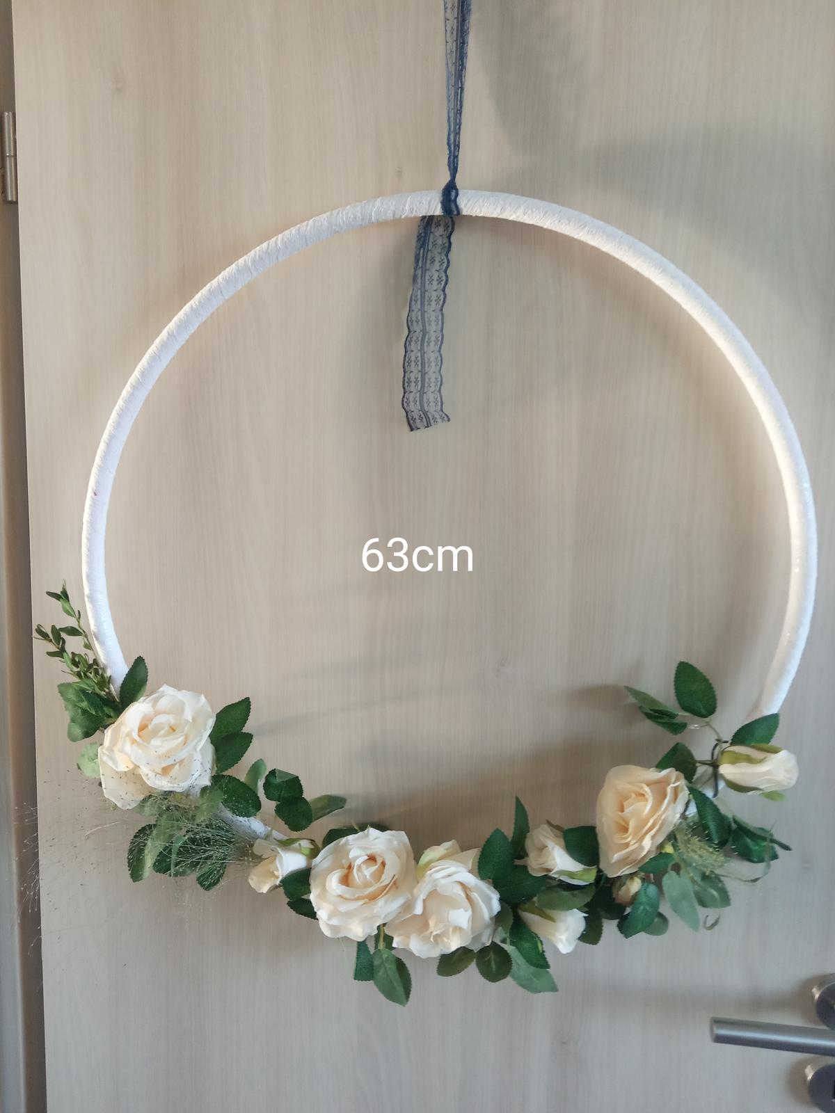 Ozdobné květinové kruhy - Obrázek č. 2