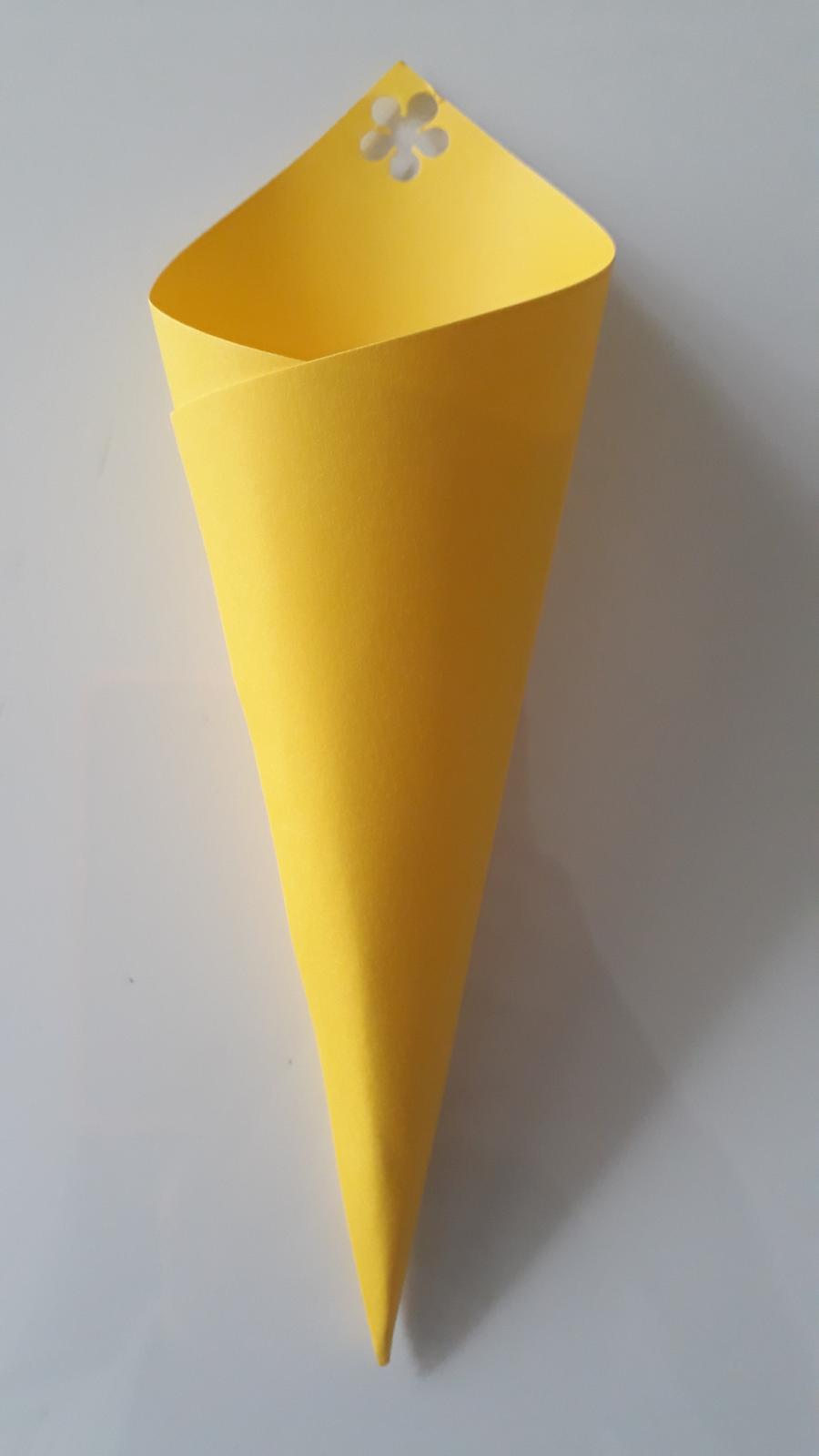 Kornoutky na rýži nebo okvětní plátky, žluté, 20ks - Obrázek č. 1