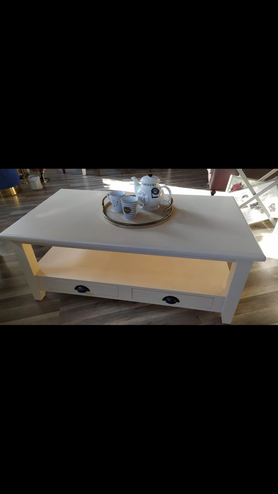 Vintage konferenčný stolík - Obrázok č. 1