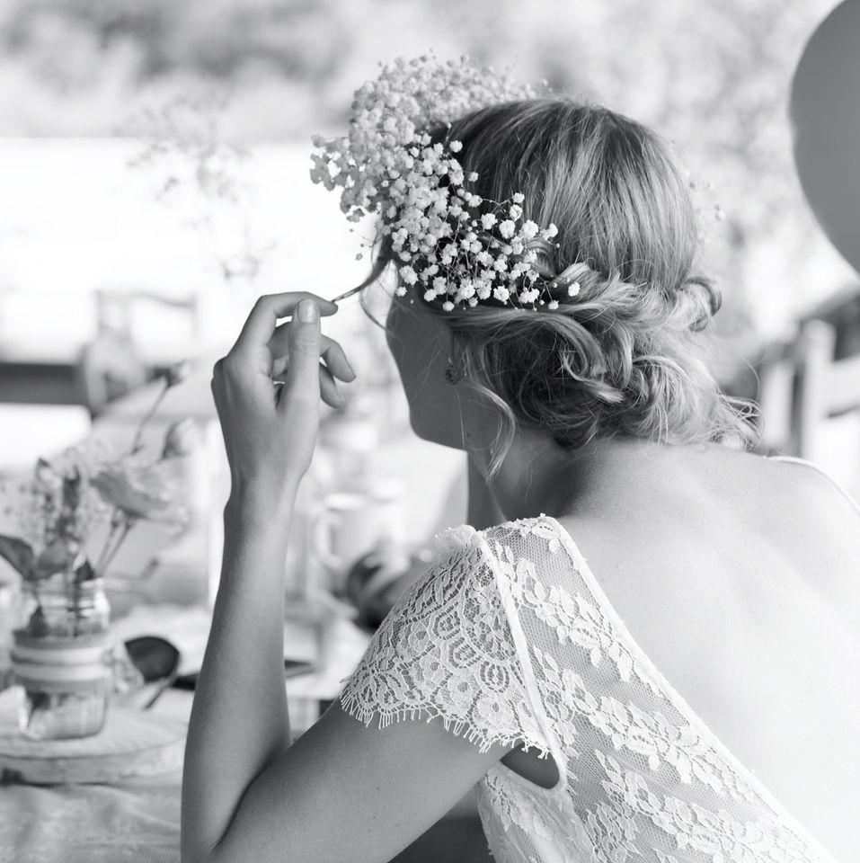 boho svatební šaty z hedvábí - od slavné návrhářky Laure de Sagazan - Obrázek č. 1