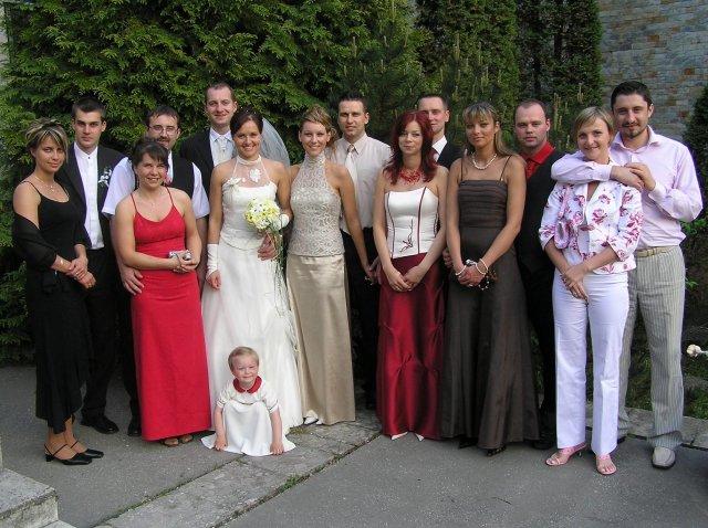 Lenka{{_AND_}}Andrej - družbovia a družičky