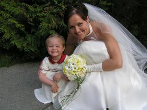 ja a Emuška (dcéra priateľky Lenky a Pipena)