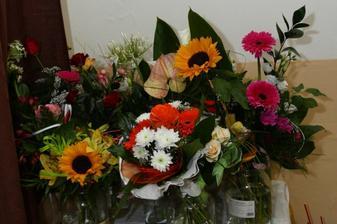 ďakujem za kvety