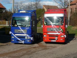 Svatební kamiony