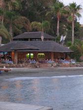 Miesto našej svadobnej večere - reštaurácia na pláži.
