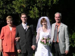 Foto pred kostolom