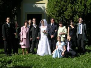 Foto - časť rodiny (nejak sme sa nevedeli dať dokopy)
