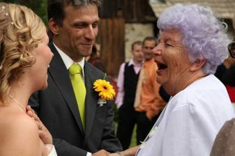 moje vtipná babička :-D
