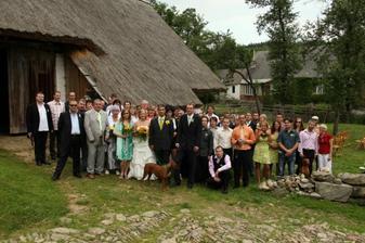 a tady jsou všichni, co byli u obřadu