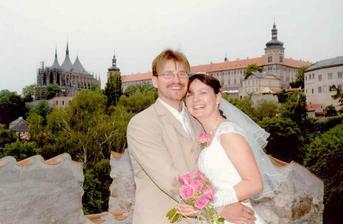 fotka s panoramatem Kutné Hory prostě nemůže chybět:o)