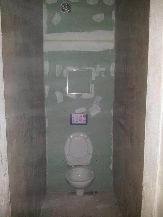Zariadujeme náš druhý bytík - wc pre hostí