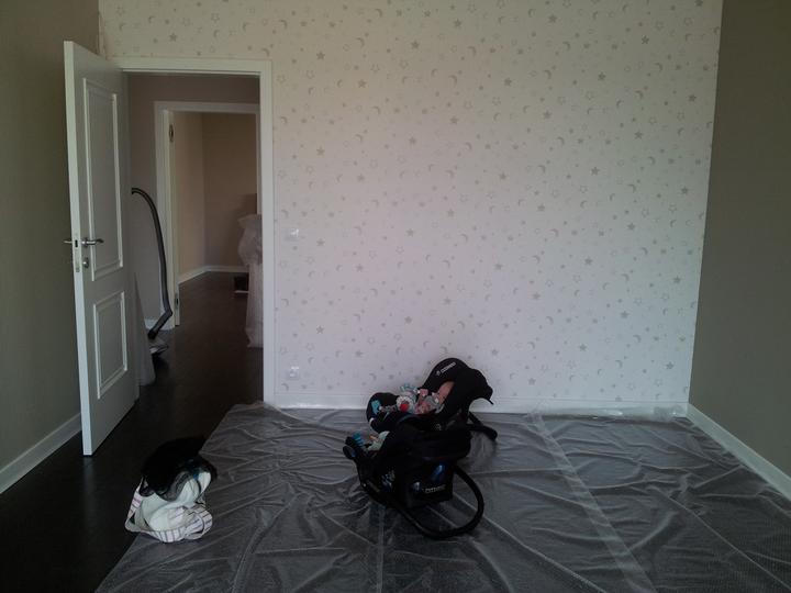 Zariadujeme náš druhý bytík - zatiaľ herňa, potom izba pre dvojky.