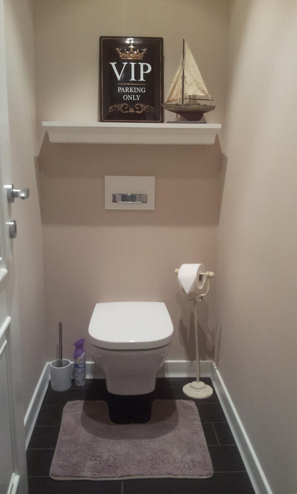 Zariadujeme náš druhý bytík - wc pre hostí.