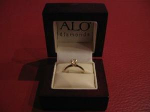moj briliantovy zasnubny prstienok