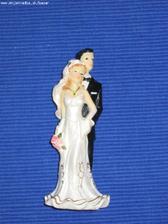 moje postavicky na svadobnu tortu