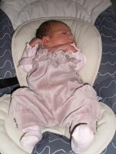 our daughter Rebecca Katarina 3 days old