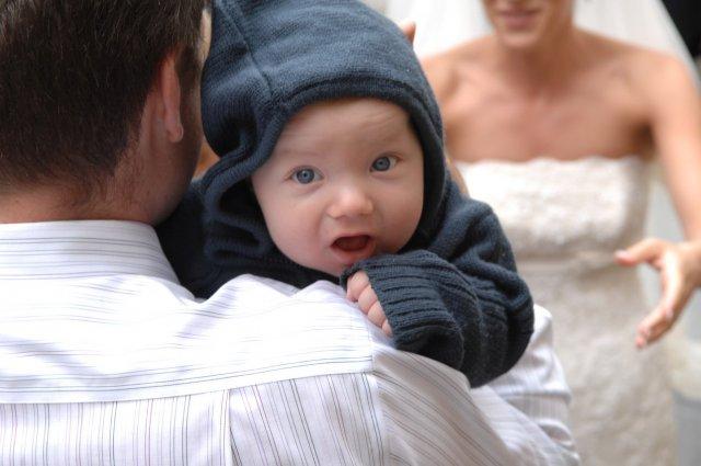 Saška a Peťko - detaily našej svadby - najmladsi svadobcan