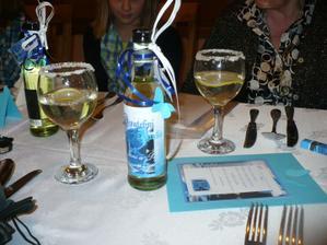 Svatební menu a vínka