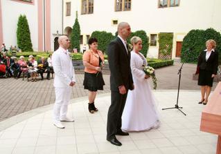 obřad v Atriu SKKS v Chomutově