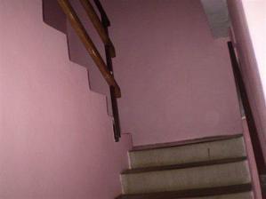 původní schody, trochu jiný pohled..