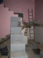 provizorní schodiště ;o)
