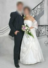 toto sú moje svadobné šaty....