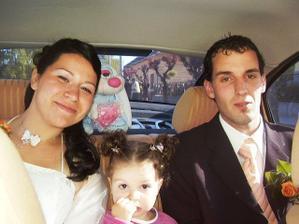 My vo svadobnom aute