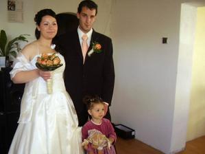 Ja,manžel a naša dcérka :o)