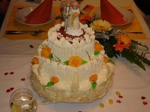 ... svatební dort