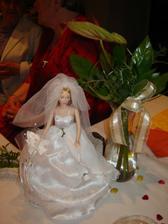 Výzdoba svatebního stolu...