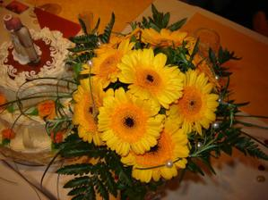 Svatební kytice...