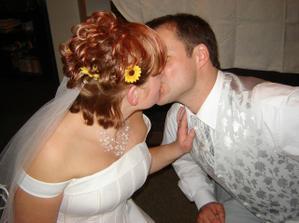 Manželské políbení...