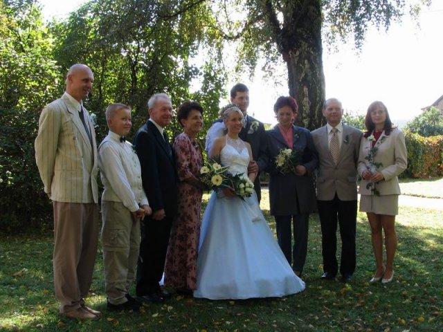 Zdeňka{{_AND_}}Petr - s rodinou